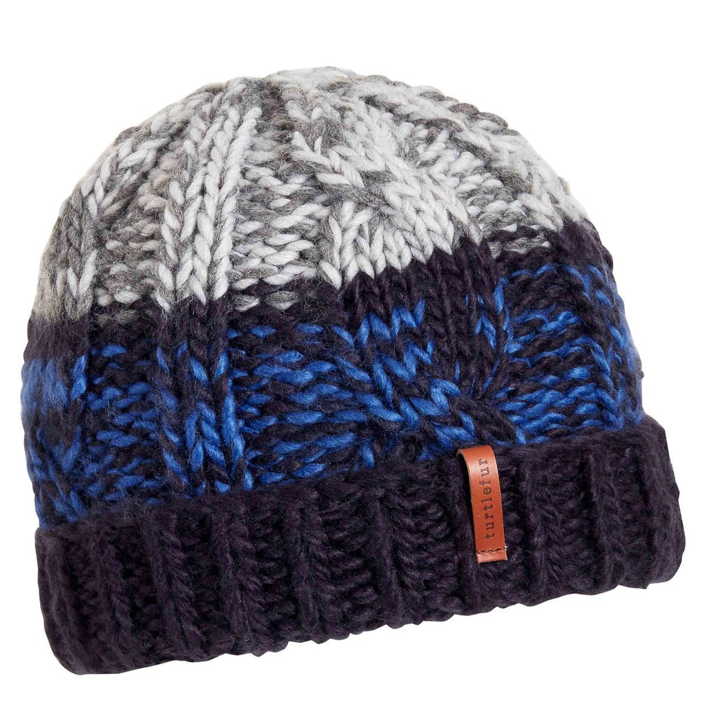 Paul Knit Beanie / Color-Navy