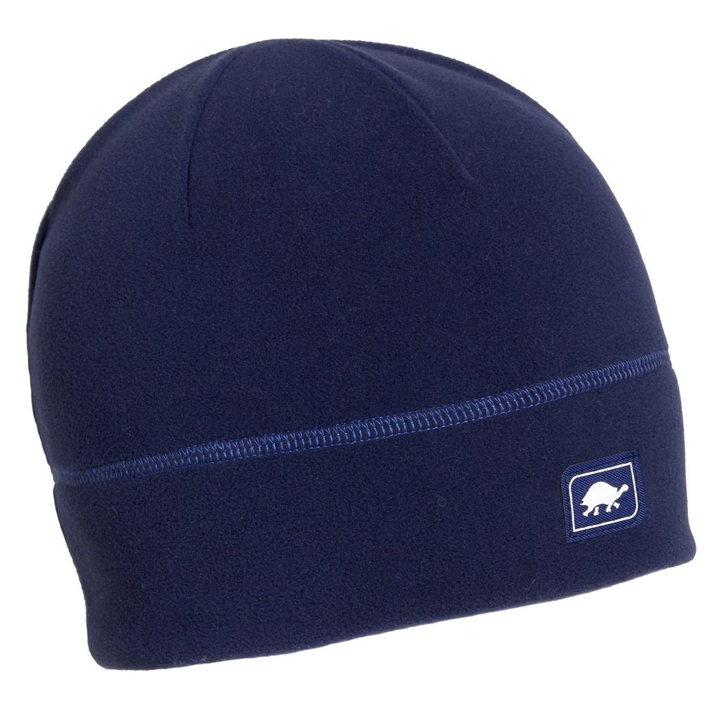 Micro Fur Fleece Beanie / Color-Navy