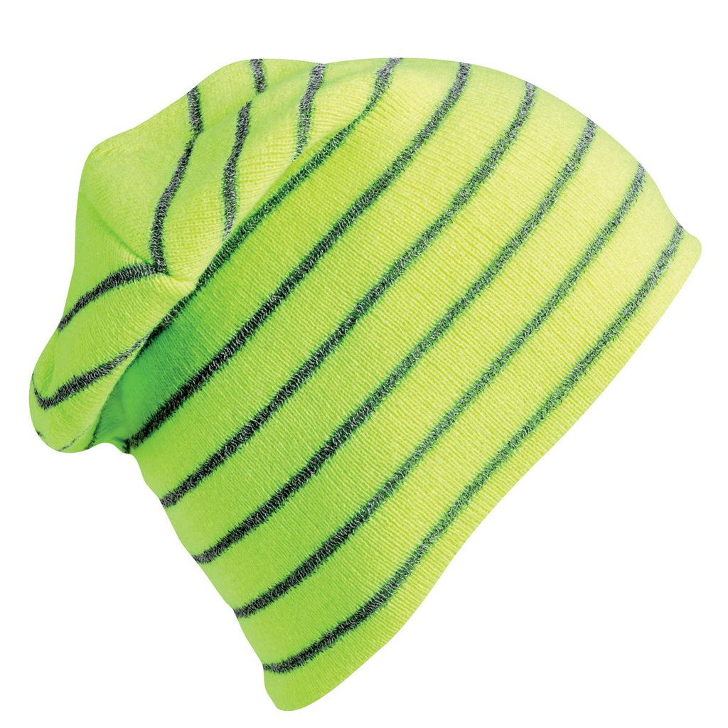 Hi-Viz Reflective Beanie / Color-Day Glo