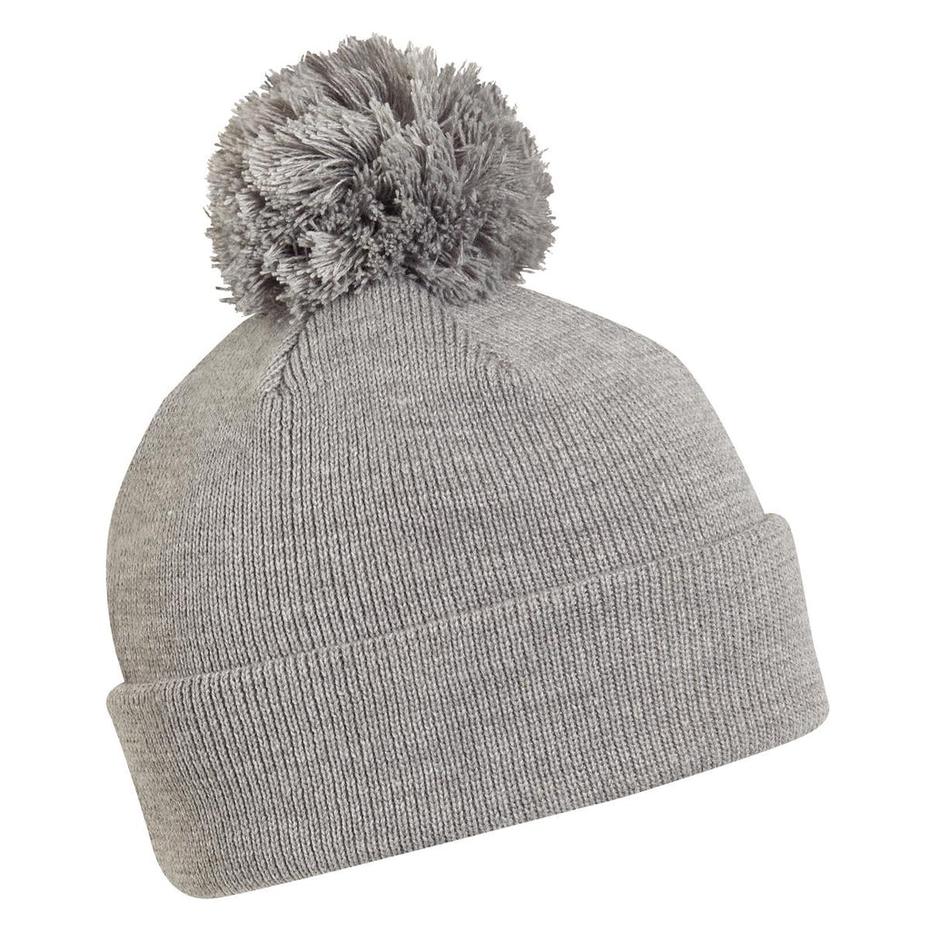 Hilltop Pom Beanie / Color-Charcoal