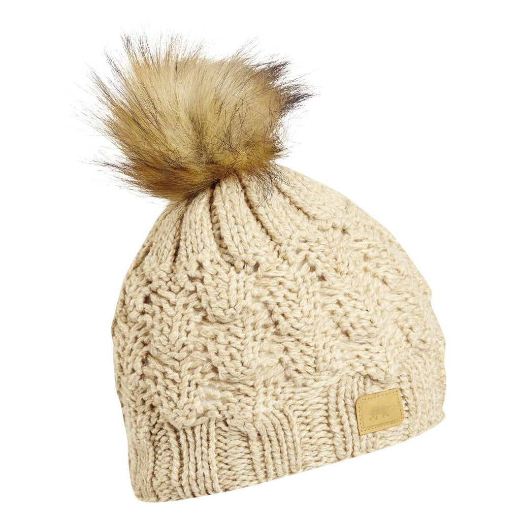 Lucy Pom Beanie / Color-Oat