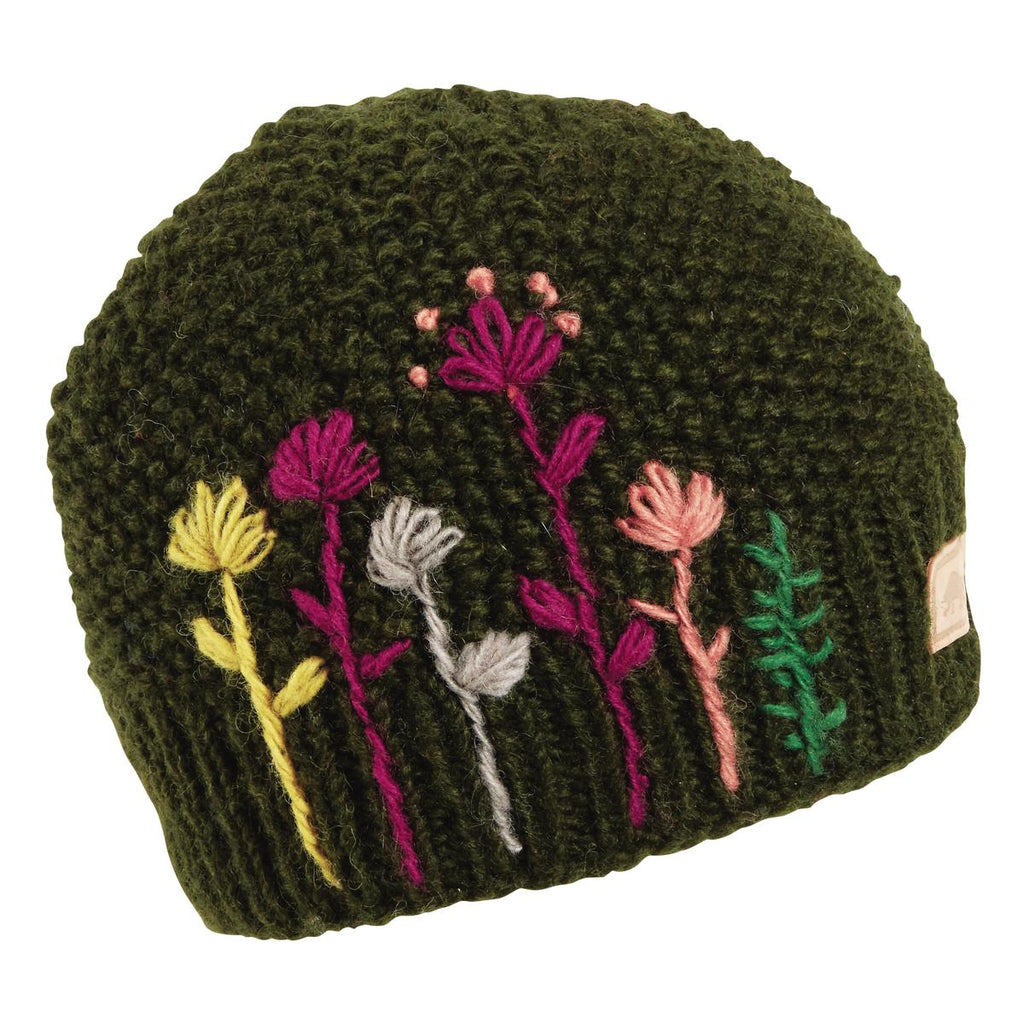 Karishma Hand Knit Beanie / Color-Alpine