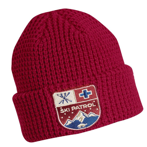 Youth Ski Patrol Watch Cap / Color-Red