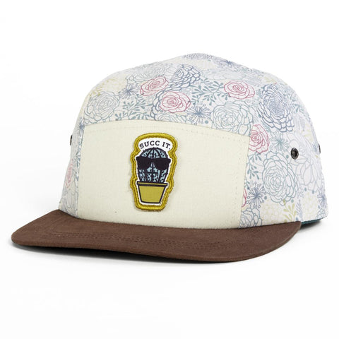 Prickly Camper Cap / Color-Floral
