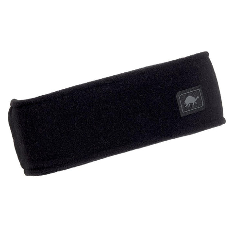 Micro Fur Fleece Headband / Color-Black