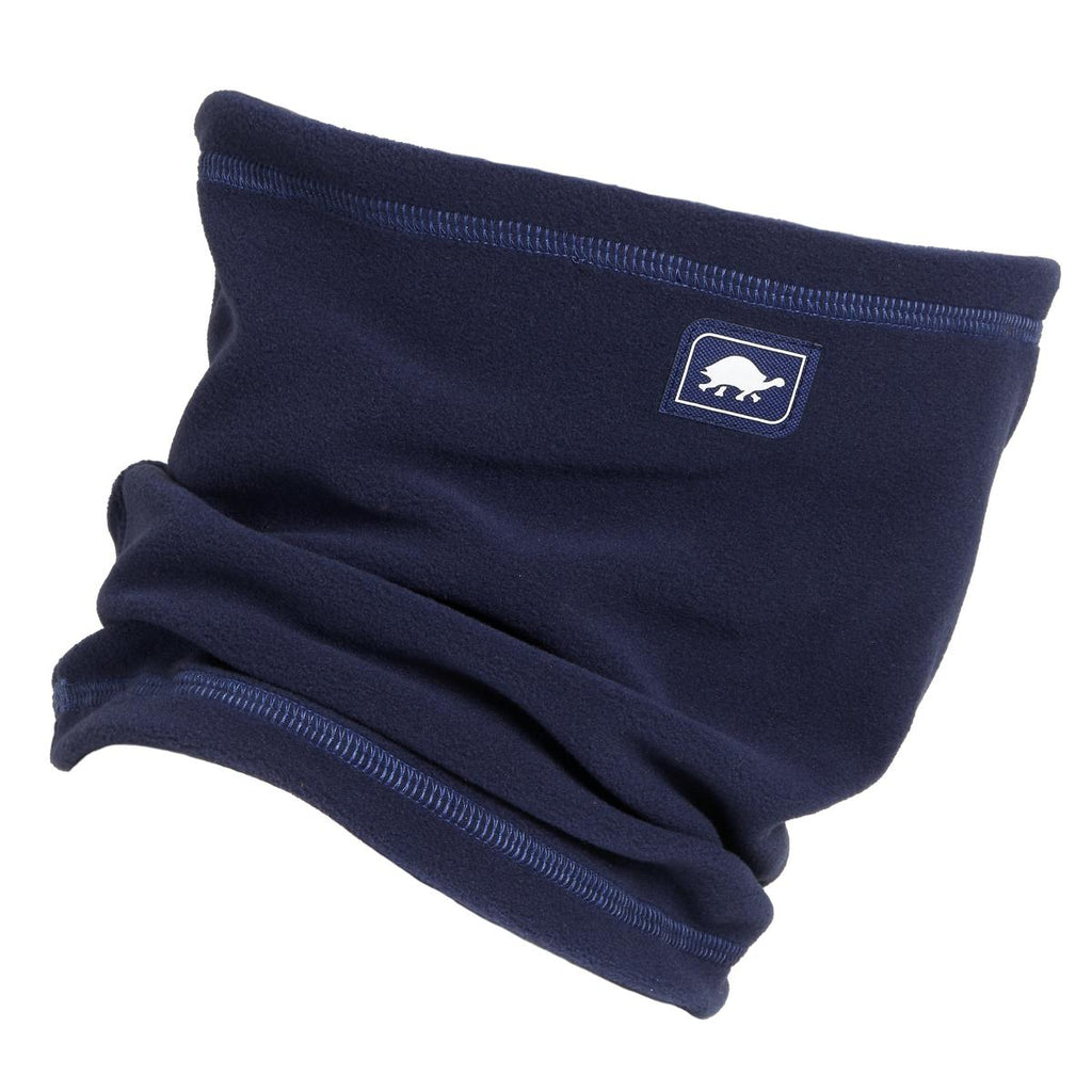 Micro Fur Fleece Single-Layer Neck Warmer / Color-Navy