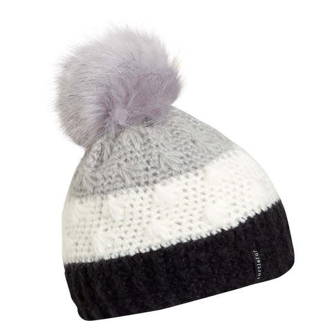 Phyllis Faux Fur Pom / Color-Silver