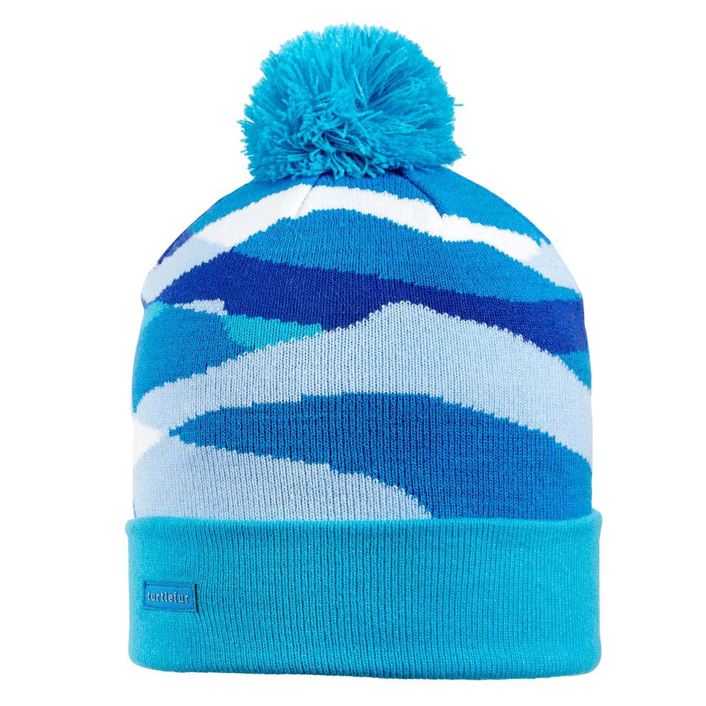 Youth Mountain Waves Pom / Color-Turquoise