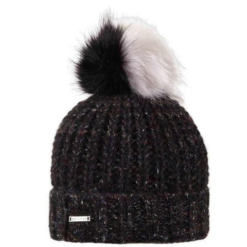 Mae Faux Fur Pom / Color-Black
