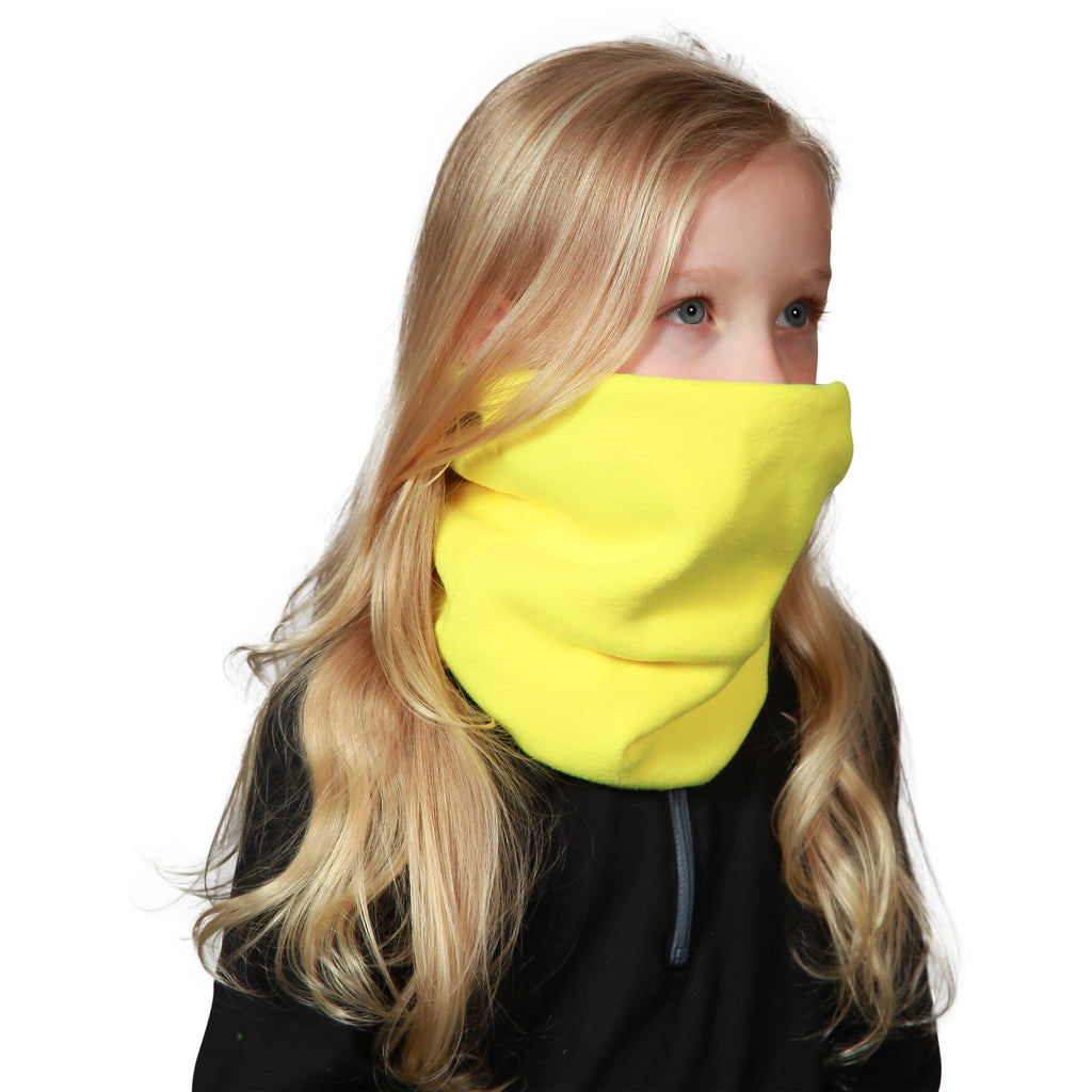 Kids' Double-Layer Neck Warmer / Color-Sunshine