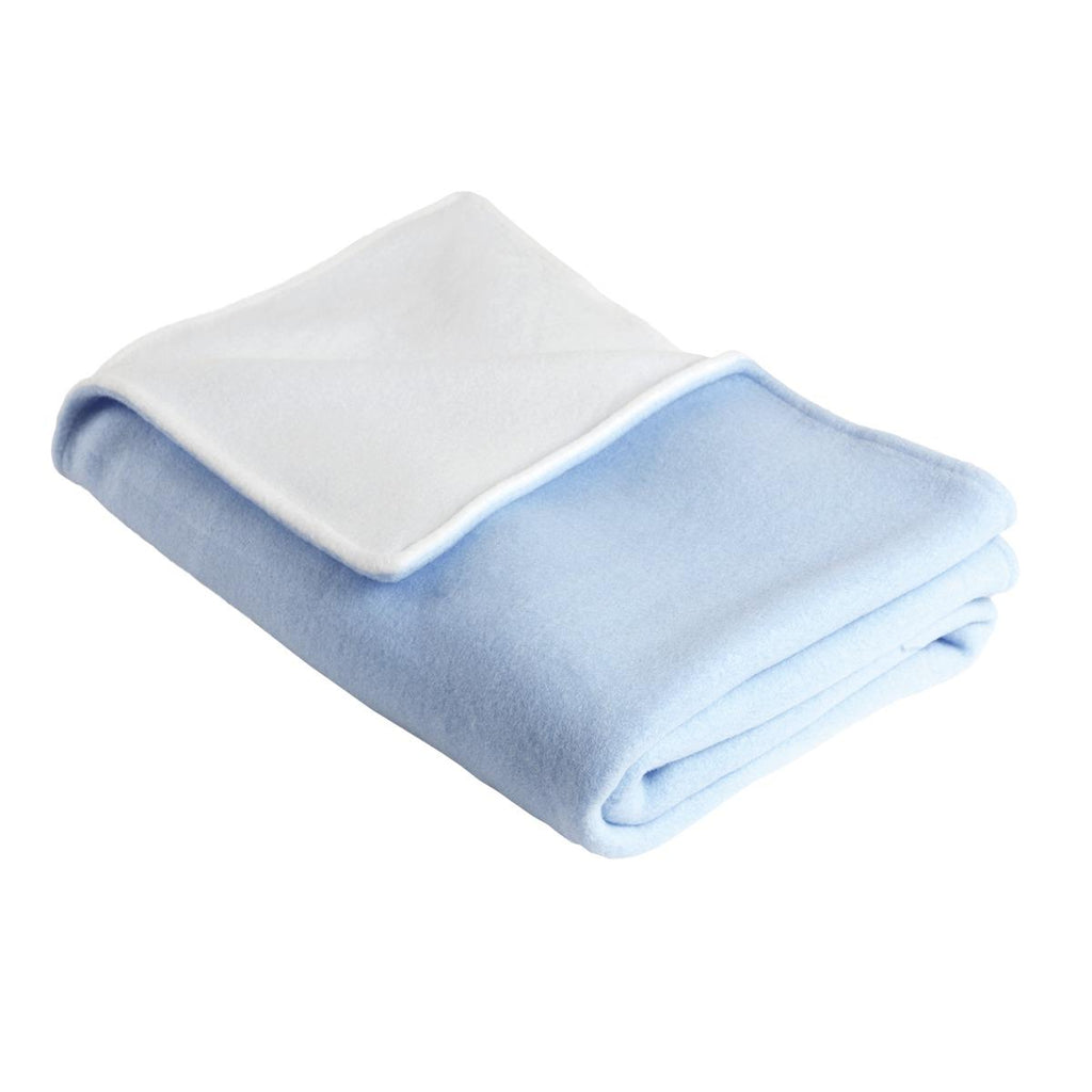 Fleece Baby Security Blanket / Color-Icicle