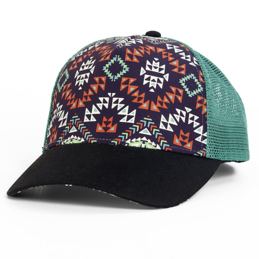 Tribal Trucker / Color - Green