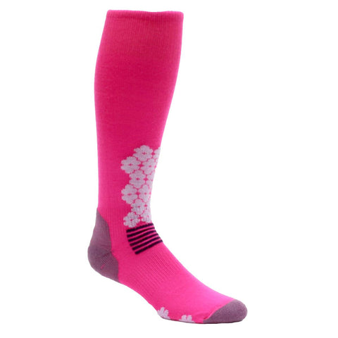 Midweight Snowdrop OTC Sock / Color-Pink