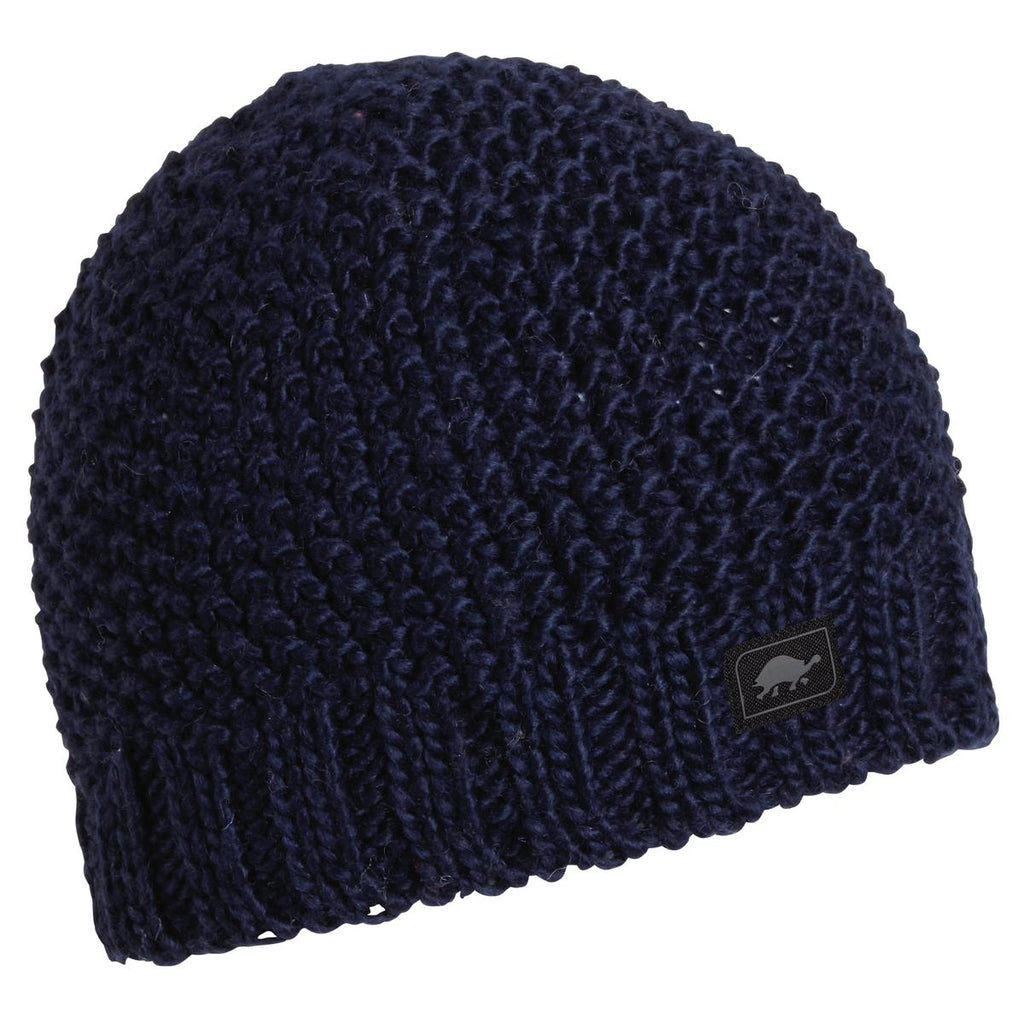 Minty Fresh Wool Blend Beanie / Color-Navy