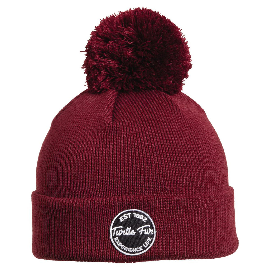 Winds of Change Pom Beanie / Color-Wine