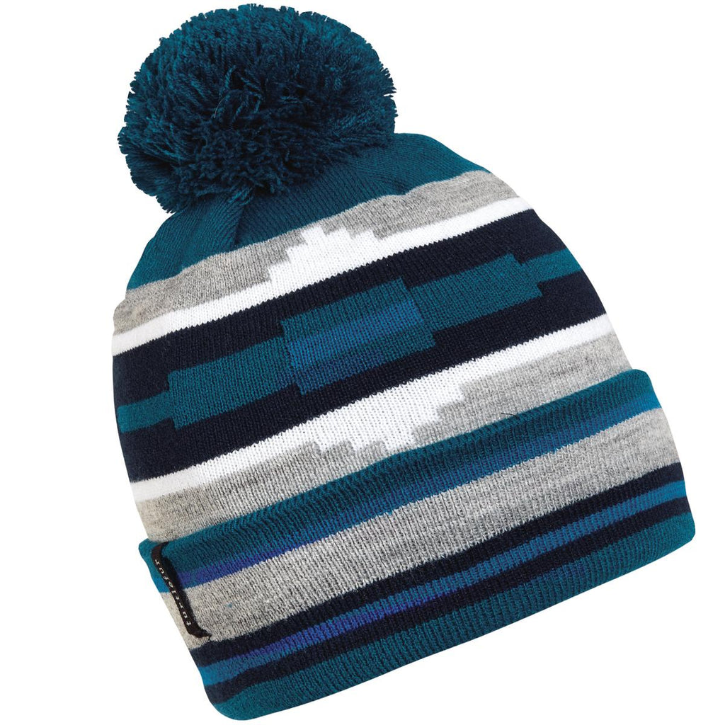 Taos Pom Beanie / Color-Kingfisher