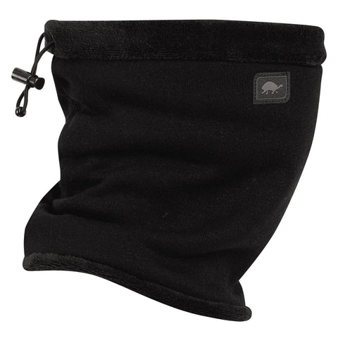 Switchback Jersey Fleece 3-in-1 Adjustable Neck Gaiter / Color-Black