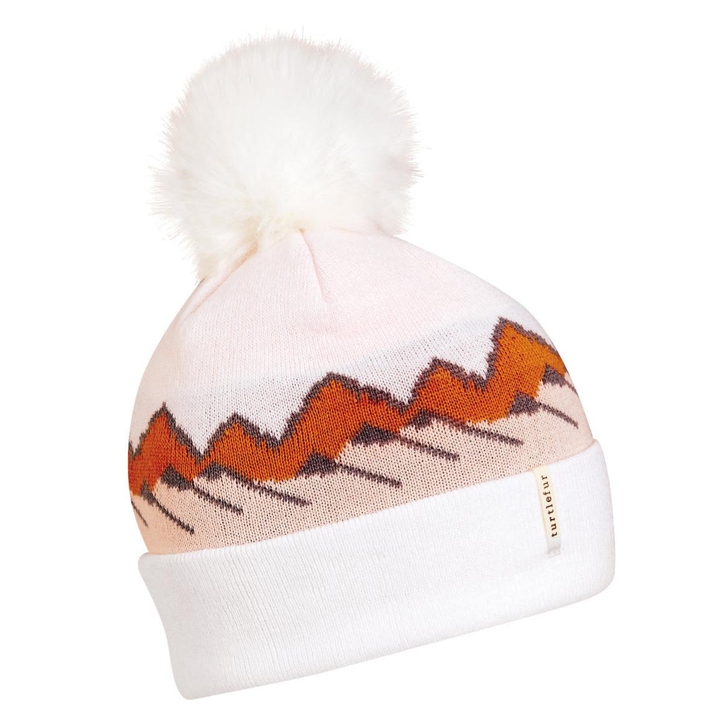 Ridgeline Pom Beanie / Color-White