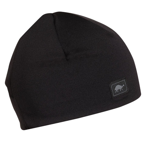 Comfort Shell Hidden Ponytail Beanie / Color-Black