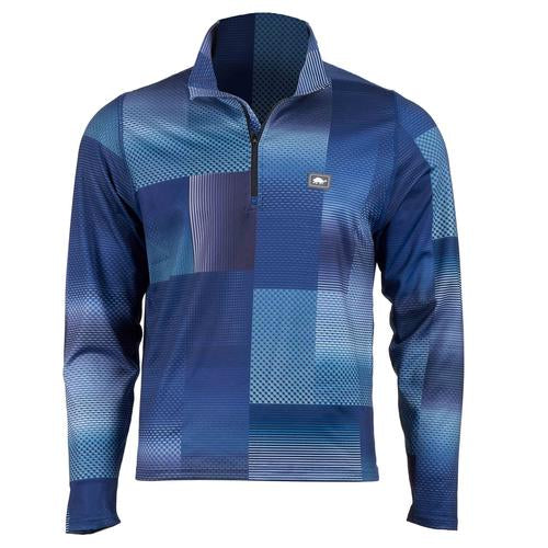 Men's Comfort Shell Carapace High Energy 1/4 Zip / Color-Midnight Madness