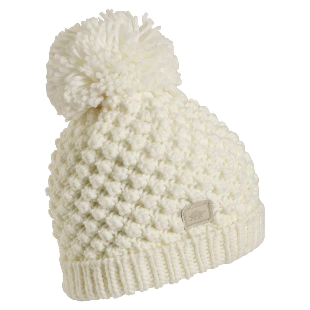 Pop Up Pom Beanie / Color - White