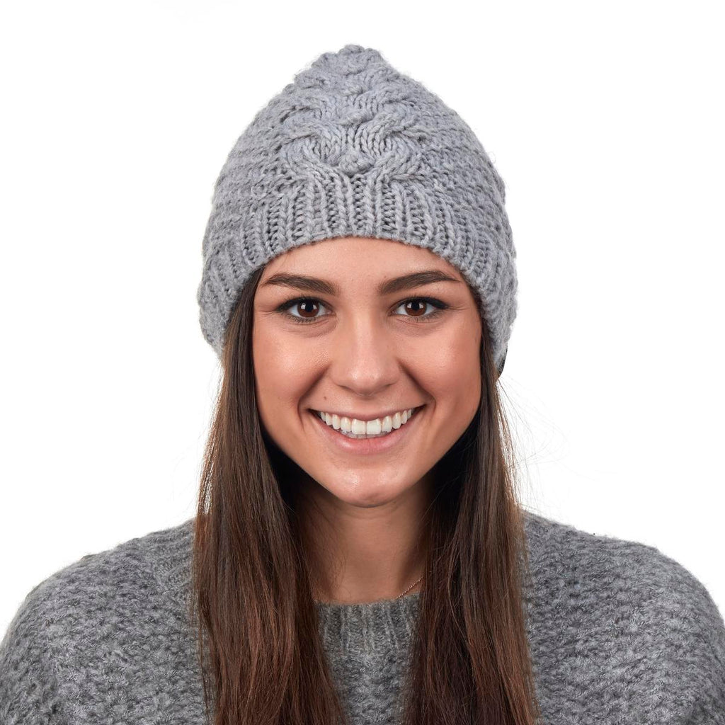 Sugar Sugar Knit Beanie / Color-Smoke