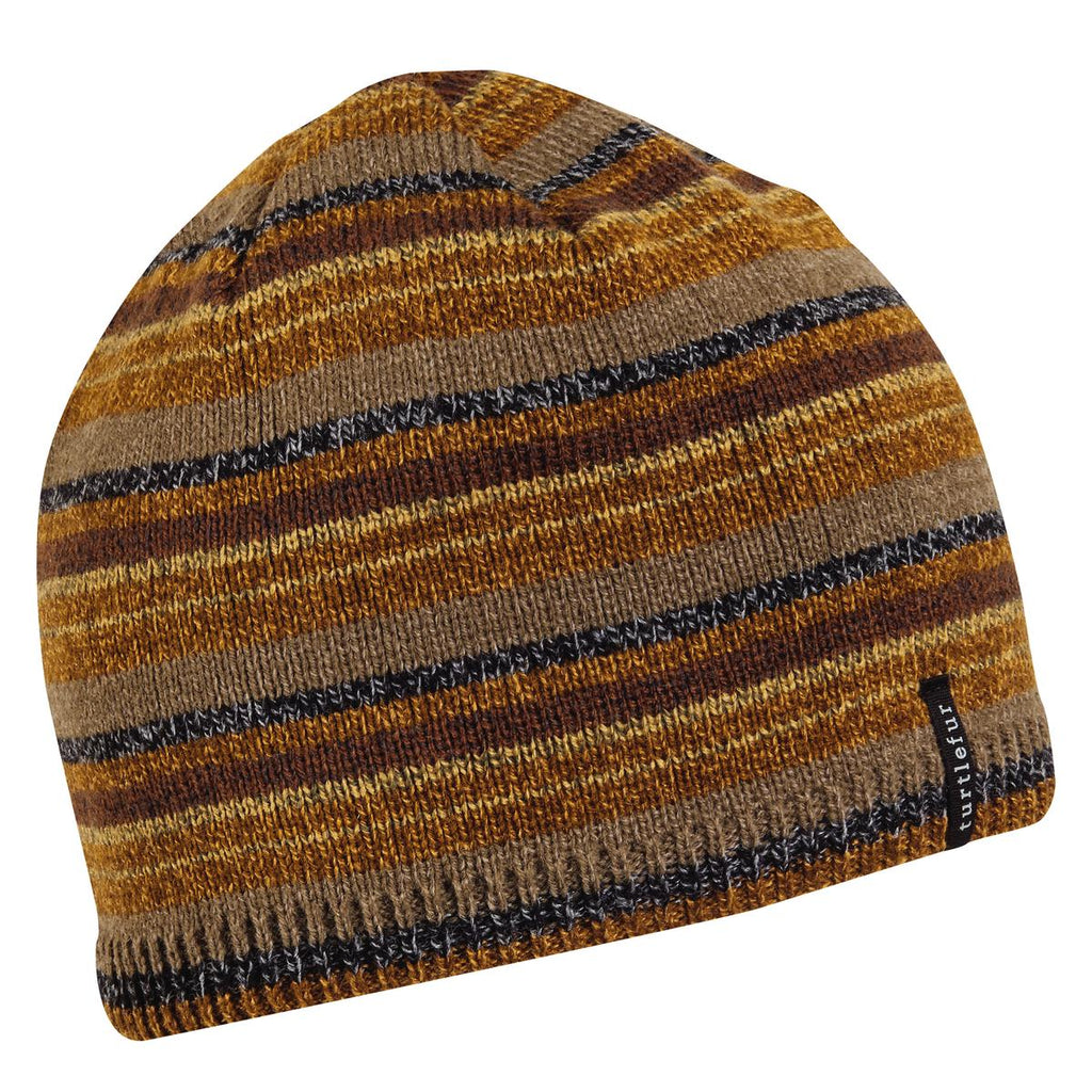 Rowen Ragg Wool Beanie / Color-Brown
