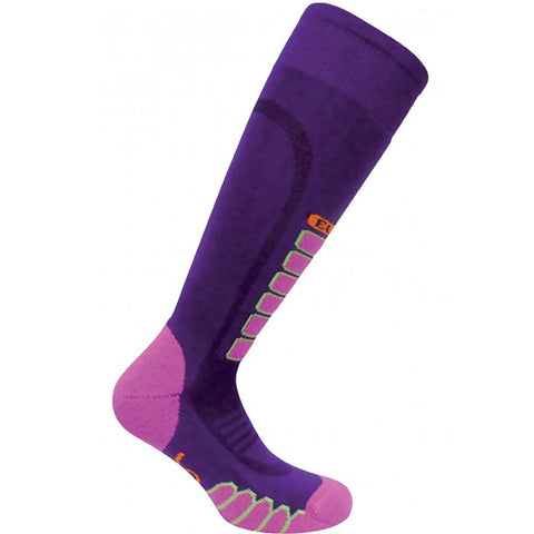 Lightweight Silver Supreme OTC Sock / Color-Purple