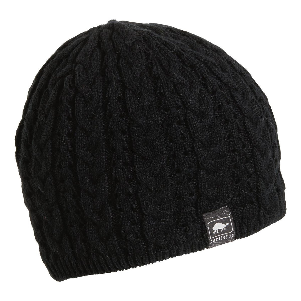 Zelda Knit Beanie / Color-Black