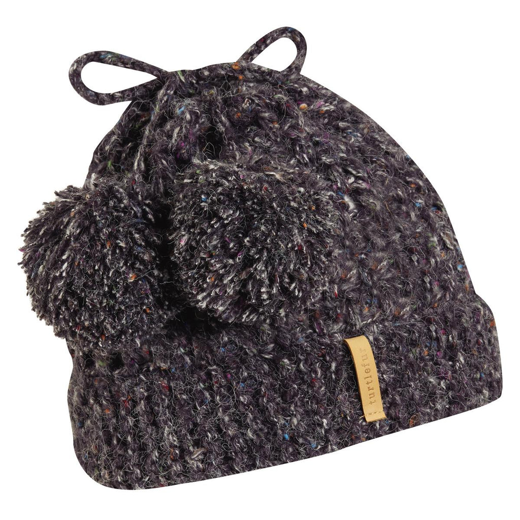 Grandma Gone Wild Knit Hat / Color-Onyx