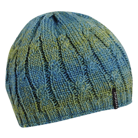Alison Knit Beanie / Color-Teal