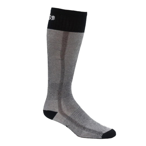 Eurosock Lightweight Snow Base OTC Sock / Color-Black