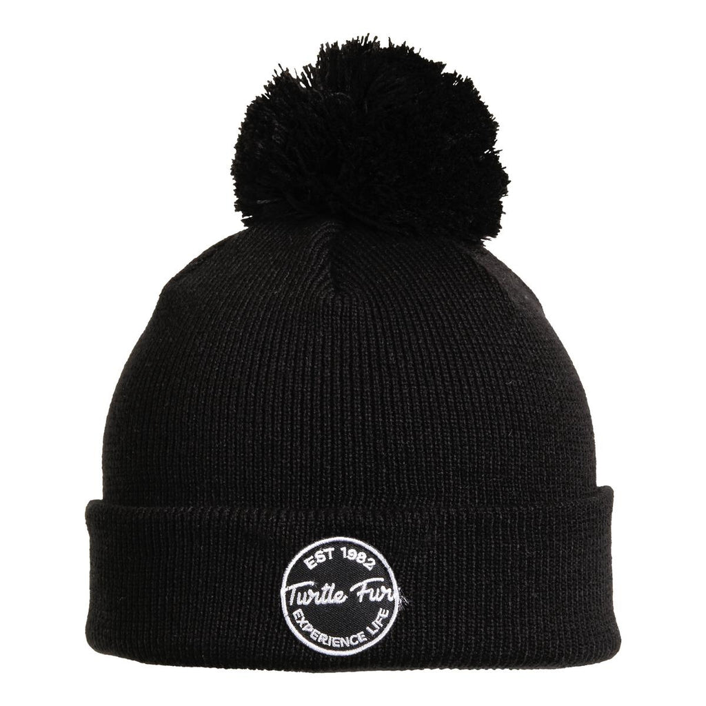 Winds of Change Pom Beanie / Color-Black