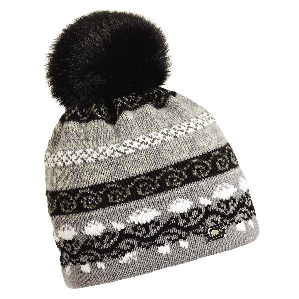HRH Lady Fairisle Beanie / Color-Gray