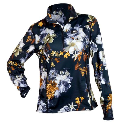 Women's Comfort Shell Kira High Energy 1/4 Zip / Color-Snowmance