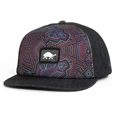 Electric Festival Trucker / Color-Black