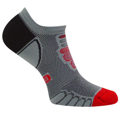 Ultra Lightweight Sprint Silver Ghost Low Cut Sock / Color - Gray