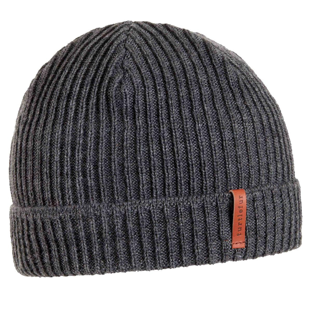 Connor Watch Cap Beanie / Color-Charcoal
