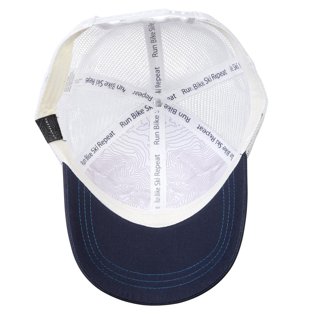 Mansfield Topo Trucker Hat / Color-Navy