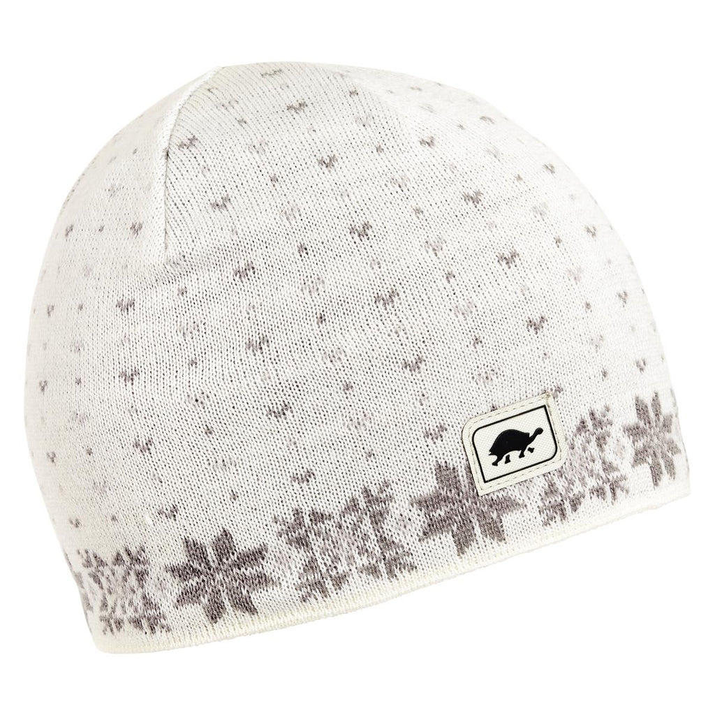 Flurry Knit Beanie / Color-Silver