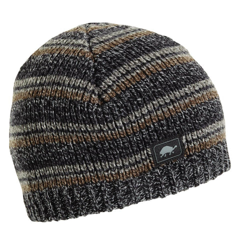 Schroeder Ragg Beanie / Color-Charcoal