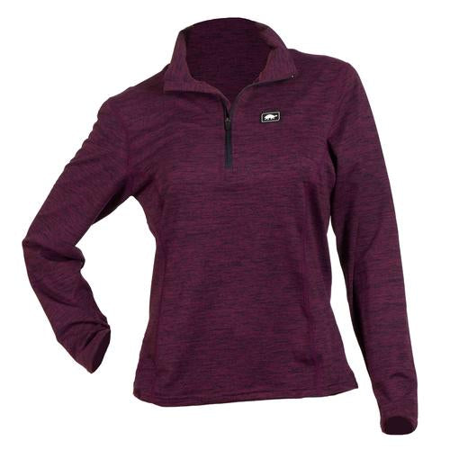Women's Comfort Shell Stria Kira High Energy 1/4 Zip / Color-Matrix
