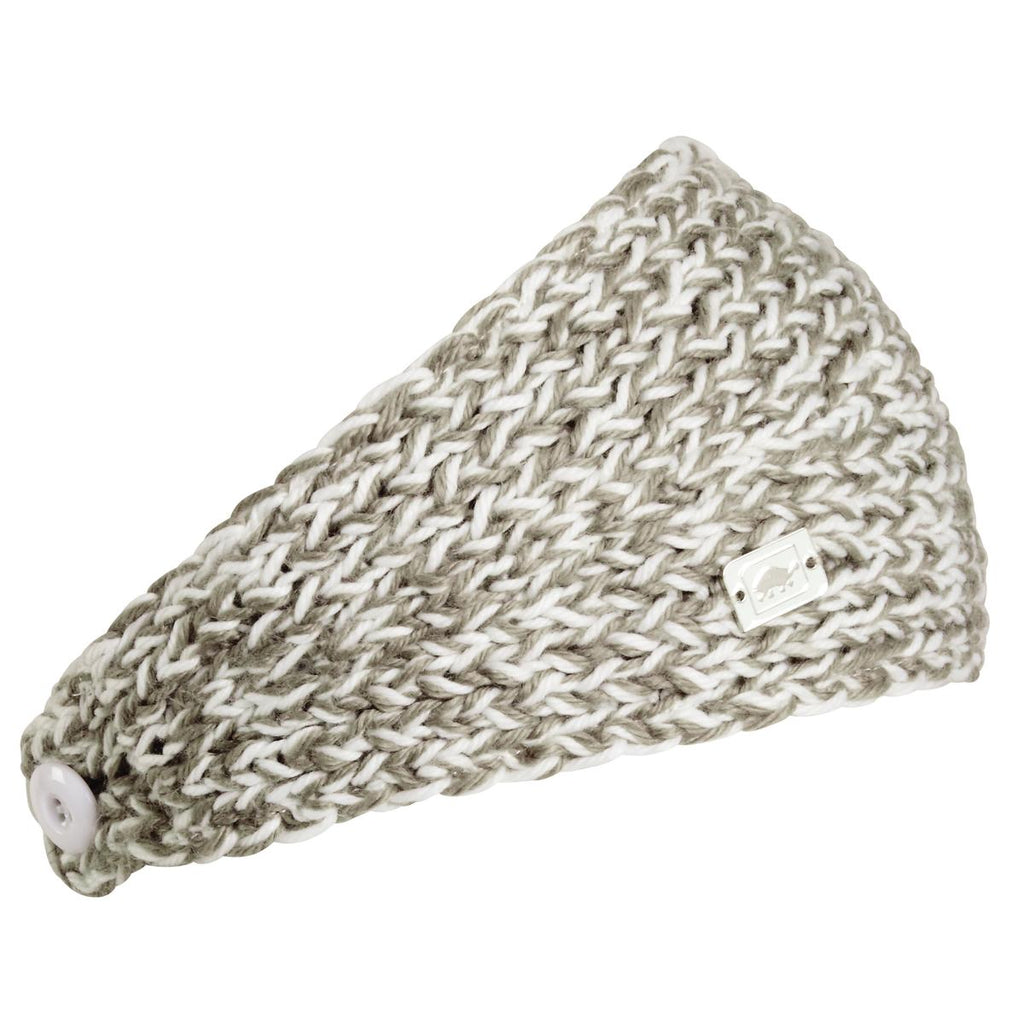 Oven Hand Knit Headband / Color-Truffle
