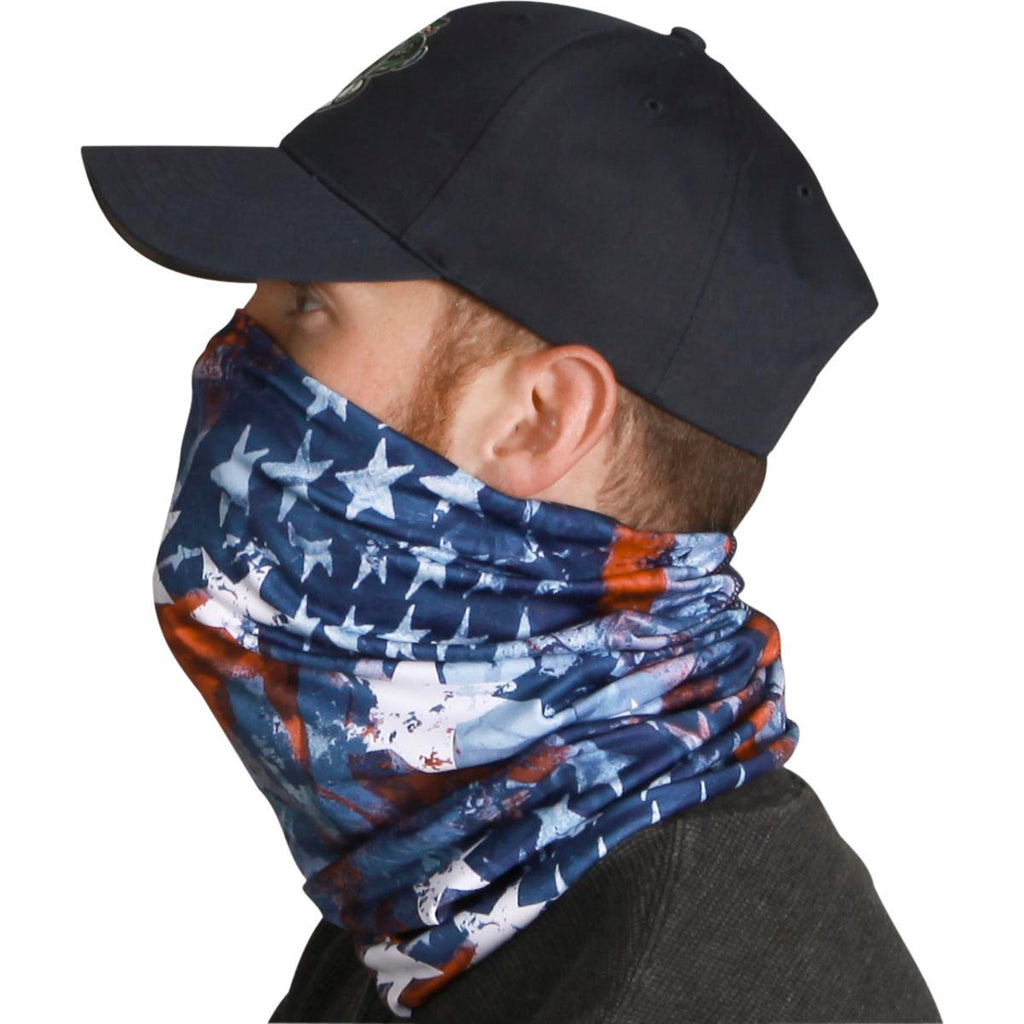 Lightweight Totally Tubular Headwear, Prints / Color - USA, USA, USA