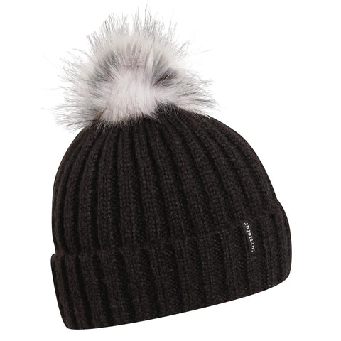 Abigail Faux Fur Pom / Color-Onyx