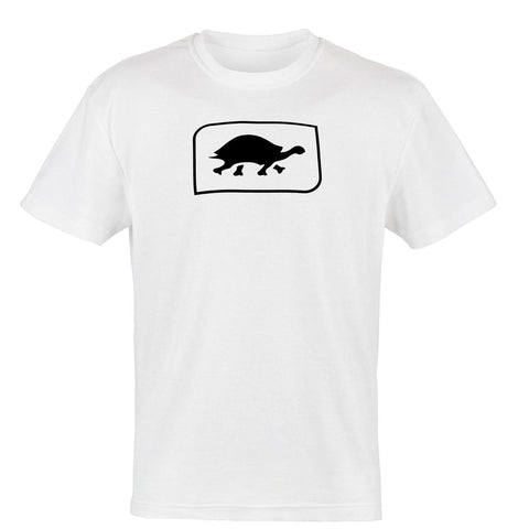 Turtle Fur Logo T-Shirt, White / Color-White