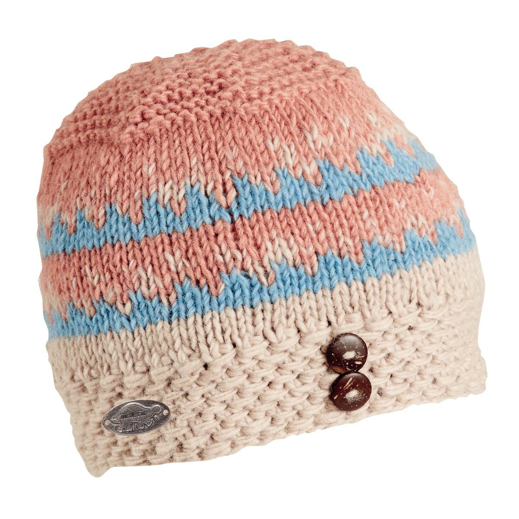 Dana Wool Beanie / Color - Sky