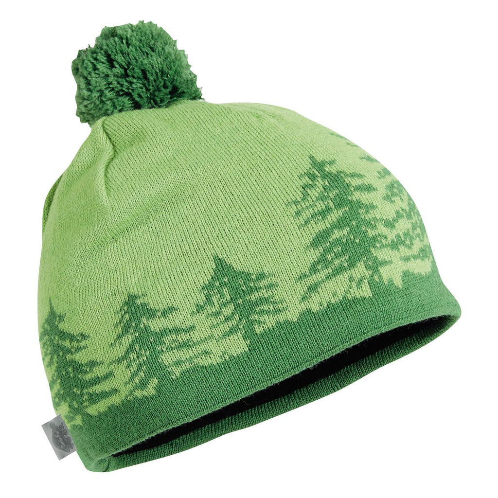 Treely Knit Beanie / Color-Grass