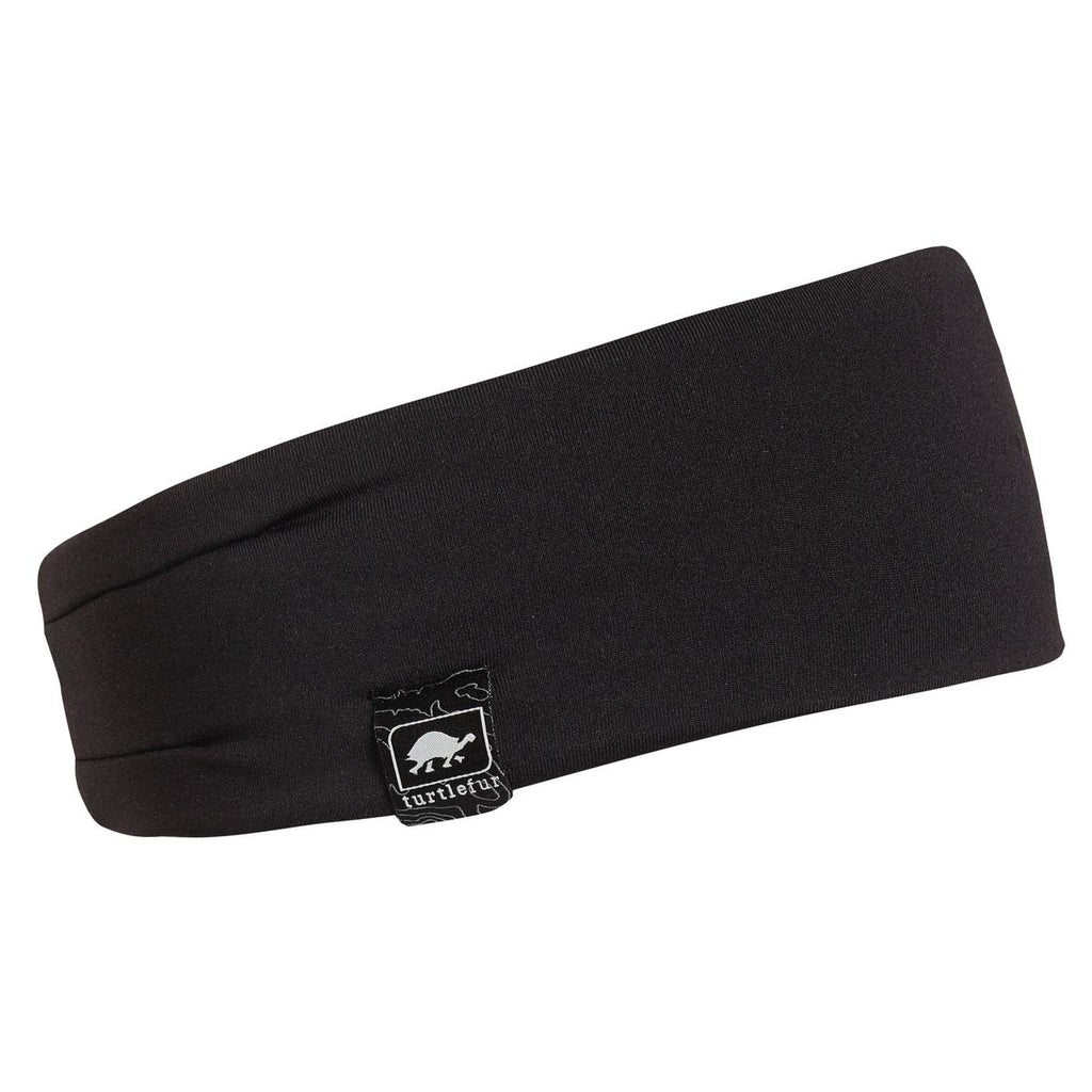 Comfort Shell Fluffy Lined Headband / Color-Black