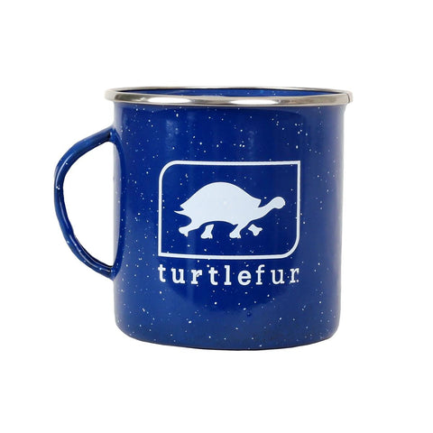 Enamel Steel Camping Mug / Color-Blue
